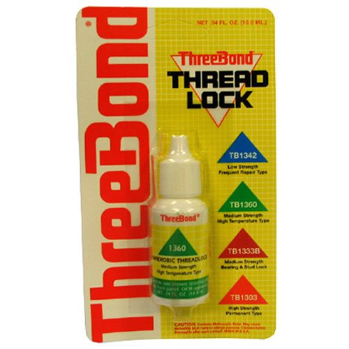 Three Bond Int'L, Inc. Thread Lock-High Temp/10 1360At003