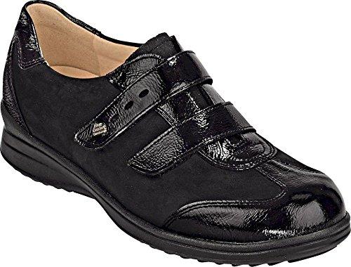 UK 5 Finn Black 8 Lace 5 Flats up Black Size Comfort Black UK Women's TTrqzw7