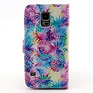 ZXC Samsung S5 I9600 compatible Graphic/Cartoon/Special Design PU Leather Full Body Cases/Cases with Stand