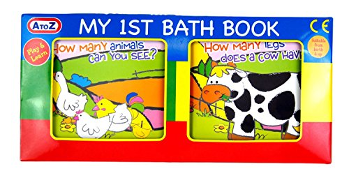 Babies My 1st Bath Book Suitable From Birth