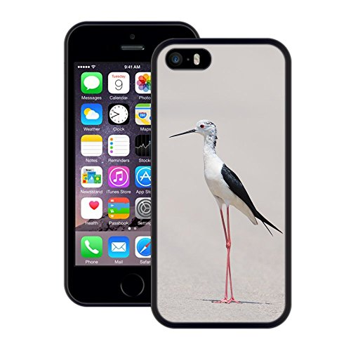 Long Legged Wader   Handgefertigt   iPhone 5 5s SE   Schwarze Hülle