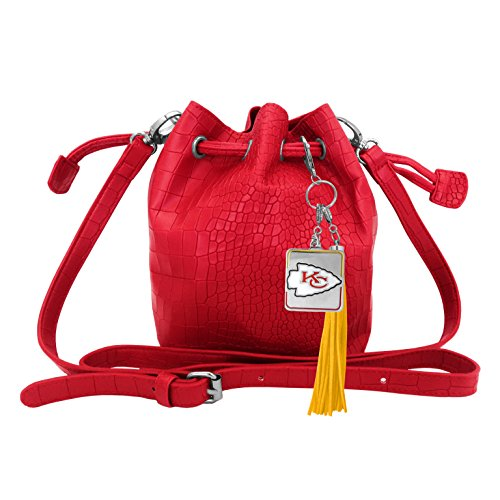 Littlearth NFL Kansas City Chiefs Charming Mini Bucket Purse