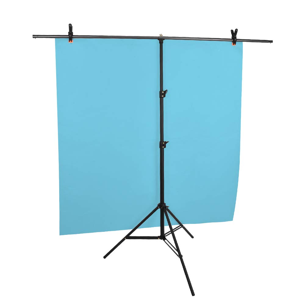UTEBIT Photo Video Studio Adjustable 2.05x2.8 M/6.7x9.2FT Background Stand Backdrop Support System Kit with Carry Bag