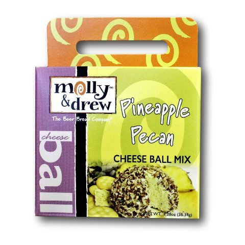 Molly And Drew Dip Mix! One 1.5 Oz Box! Pina Colada! Amaretto Cherry! Mojito Me! Pineapple Pecan! Perfect For Parties! (Mojito - Cherry Pecan