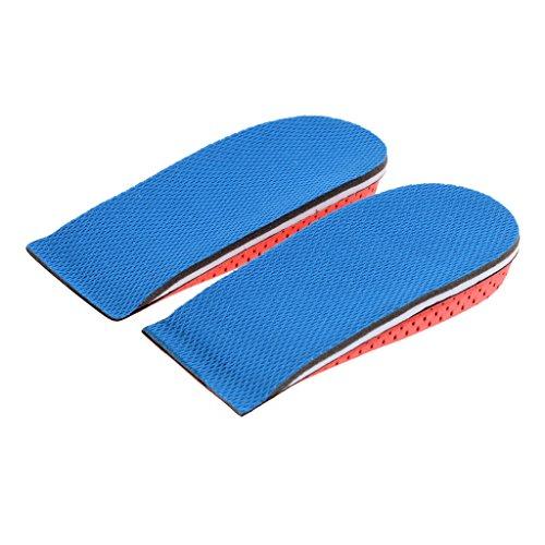 Gazechimp 1 Paar Höhe Erhöhung Schuh Einlegesohlen Schaum Atmungsaktiv Fersenaufzüge