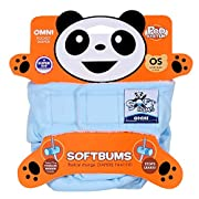Softbums Omni Shell with Hook and Loop, Snow Cone