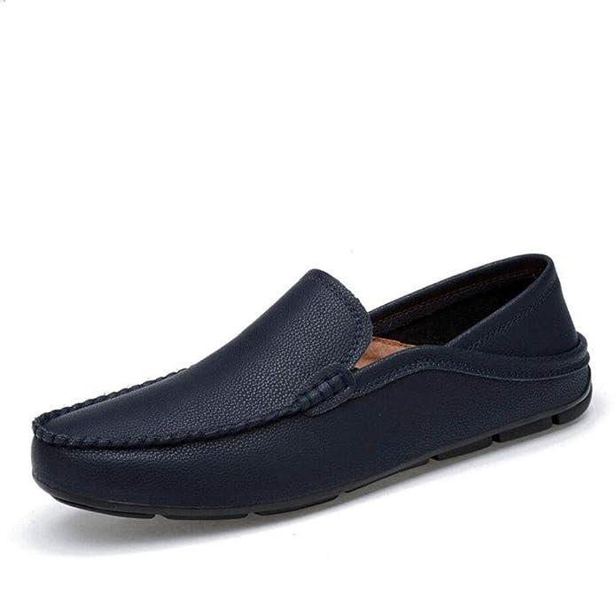 Zapatos Casuales para Hombres, Primavera/otoño Cómodo Mocasines y Slip-on Guantes Respirables Zapatos, Zapatos para Caminar Oficina y Carrera Fiesta y Noche ...