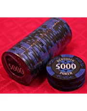 5,000 Value Numbered Poker Chip Roll