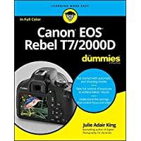Canon EOS Rebel T7/2000D For Dummies (For Dummies (Computer/tech))