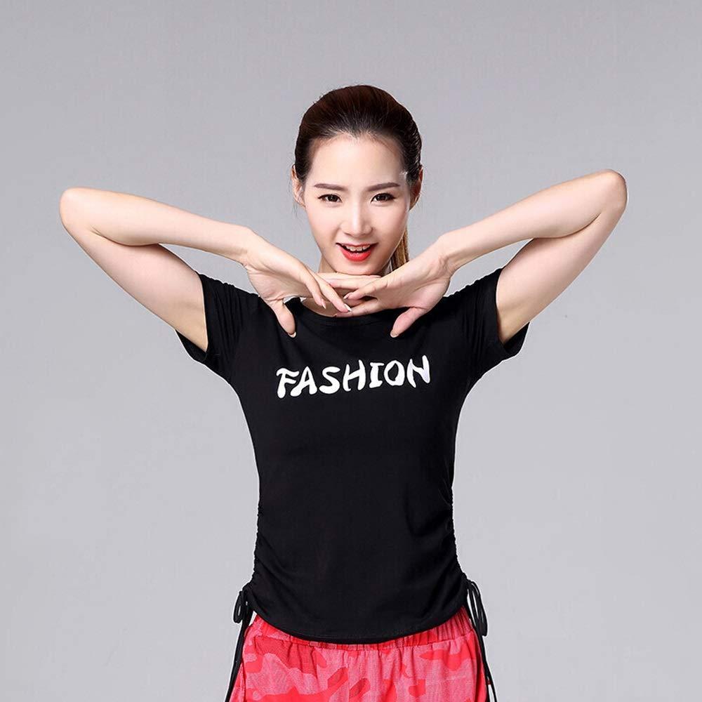 D Xiao Jian Clothing Hip Hop Street Dance Pants Clothes Summer Dance Shirt Sports Dance Clothes Dancing unifom (color   G, Size   XXXXL)