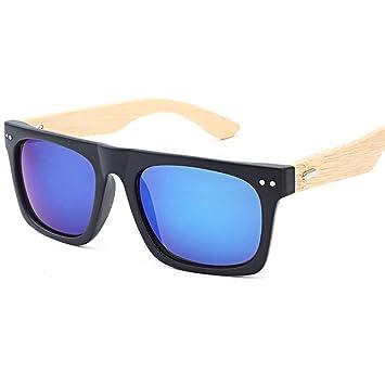 Simayixx Gafas de sol de bambú para hombres y mujeres, gafas ...