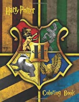 Harry Potter Coloring Book: Coloring Book For Any
