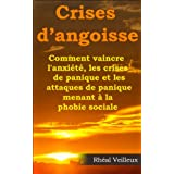 Crises d'angoisse - Comment vaincre l'anxiété, les crises de panique et les attaques de panique menant à la phobie sociale (French Edition)