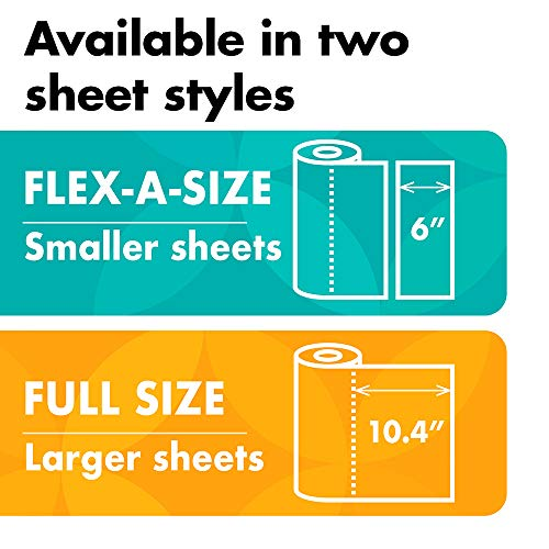 Amazon Brand - Presto! Flex-a-Size Paper Towels, Huge Roll, 12 Count = 30 Regular Rolls by Presto! (Image #5)
