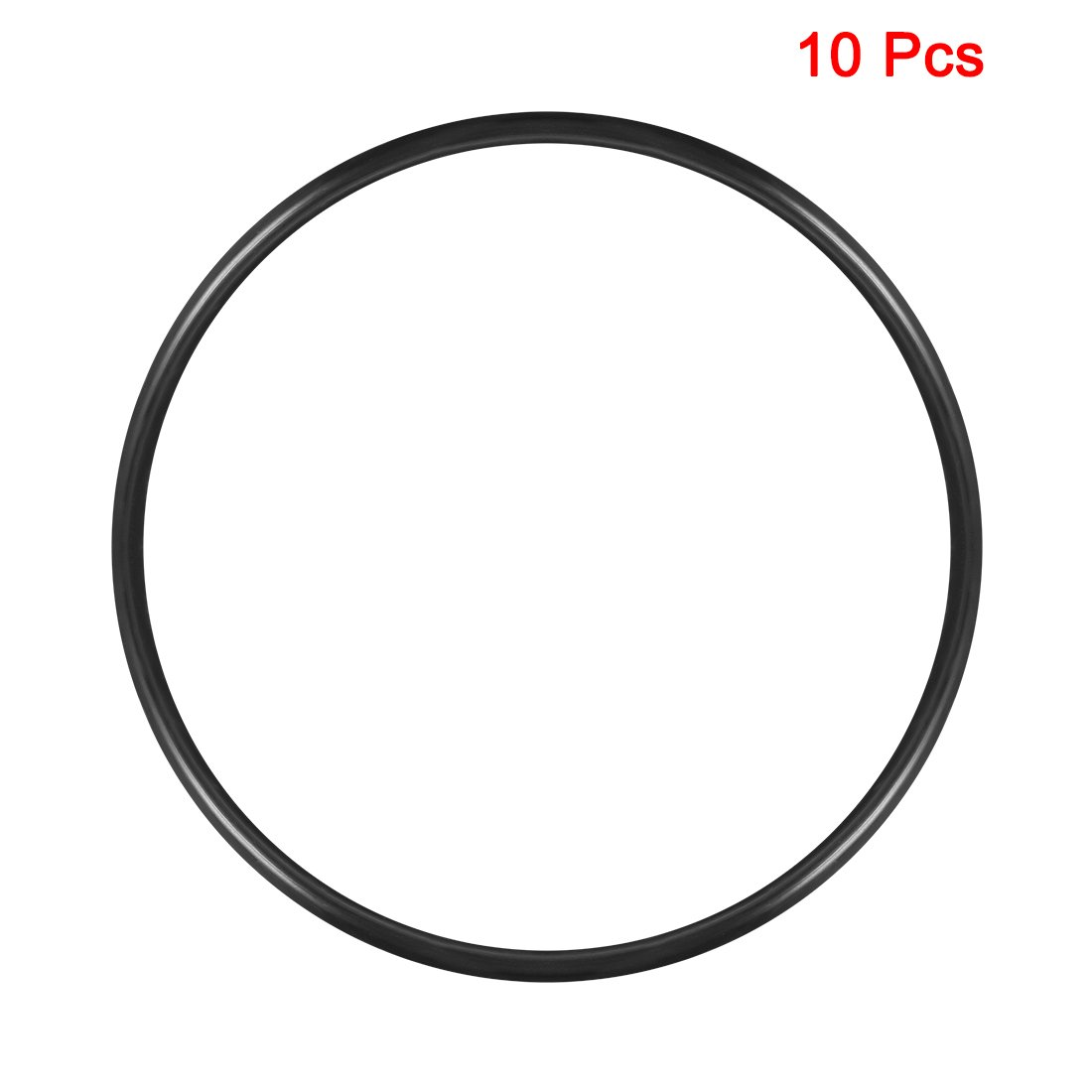 Round Seal Gasket Pack of 10 135mm Inner Diameter uxcell O-Rings Nitrile Rubber 5mm Width 145mm OD