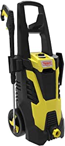 Realm BCM Electric Pressure Washer, 2300 PSI, 1.75GPM, 14.5 Amp with Spray Gun,5 Nozzles, Built in Detergent Bottle, Yellow Black