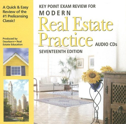 Modern Real Estate Practice Audio CDs by Dearborn Real Estate Education