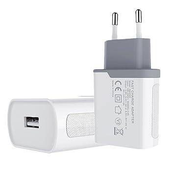 cc5bae28da6 Quick Charger 3.0, Adaptador de cargador USB rápido NILLKIN Qualcomm 3.0  Certified European Plug para