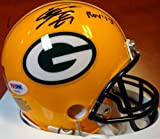 Eddie Lacy Signed Green Bay Packers Replica Mini Helmet ROY 13 - PSA/DNA Authentication - Autographed NFL Football Helmets