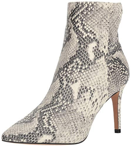 STEVEN by Steve Madden Women's Leila Ankle Boot, White/Multi, 8 M ()