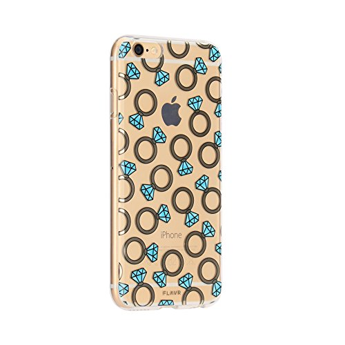Coque iPlate FLAVR diamond rings iPhone 6 et 6S