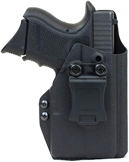 Priority 1 Holsters Inside The Waistband Holster for Glock 26/27 / 33 with Streamlight TLR-6 (TLR6) Right Handed