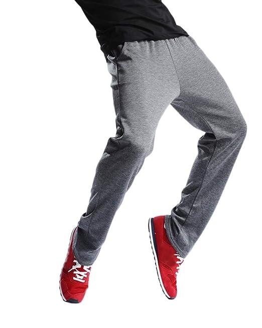 DianShaoA Pantalones De Chándal De Hombre Running Yoga Pantalones ...