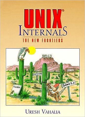 UNIX Internals: The New Frontiers by Uresh Vahalia (1996-11-02)