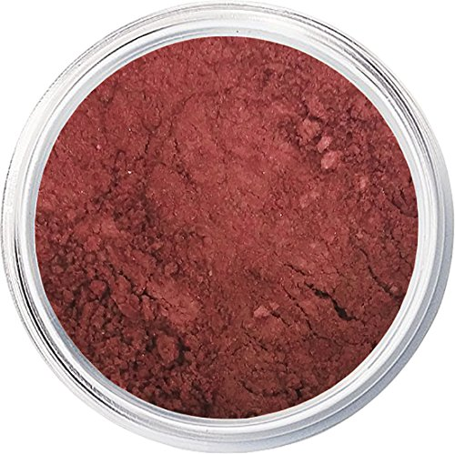(Blush Makeup | Red Hawaii | Mineral Makeup by Giselle Cosmetics | Pure, Non-Diluted Mineral Make Up)