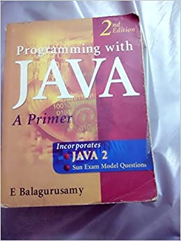 Java Book Pdf By Balaguruswamy