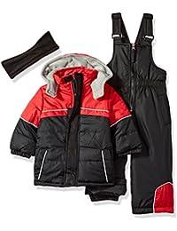 Boy's Colorblock Snowsuit
