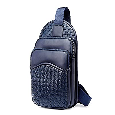 b7cb89eebb 70%OFF iVotre PU Leather Cross Body Bag Mesh Weave Pattern Shoulder Sling  Bag All