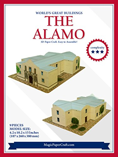the-alamo-paper-craft-model
