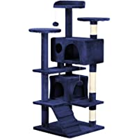 """Yaheetech 51"""" Cat Tree Tower Condo Furniture Scratch Post for Kittens Pet House Play"""