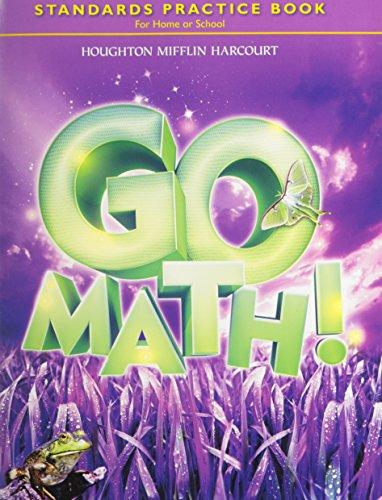 Go Math! Standards Practice Book, Grade 3 (Houghton Mifflin Harcourt Answer Key Grade 8)