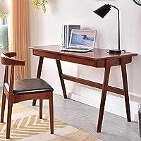 Amazon Com Der Bureau Bois Massif Simple Ménage Table De