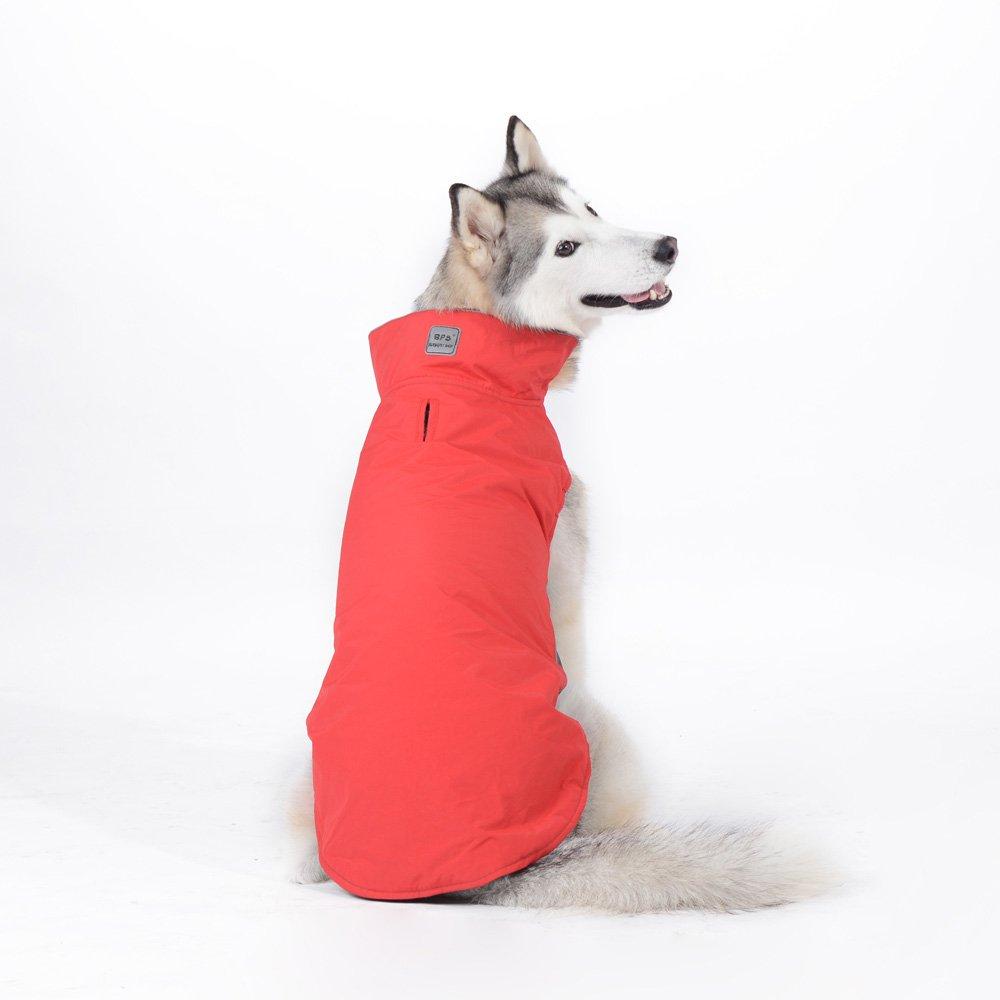 Tuopuda Mascotas Ropa Perro Grande medianos Invierno Calentar Clothes para medianos Grande Perros (5XL, Rojo): Amazon.es: Juguetes y juegos