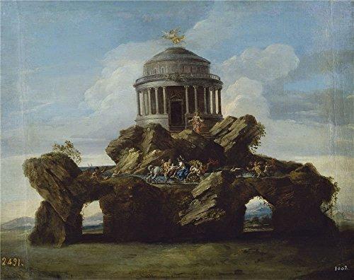 Oil Painting 'Conca Sebastiano La Educacion De Aquiles 1727