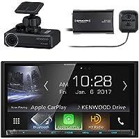 Kenwood 2-DIN Digital Media Receiver with Bluetooth & HD Radio, Kenwood Drive Recorder Dash Camera, SiriusXM Satellite Radio Connect Vehicle Tuner Kit for Satellite Radio