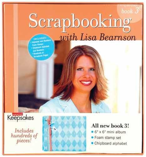 epsakes, Scrapbooking with Lisa Bearnson Vol 3 (Mini Alphabet Chipboard Set)