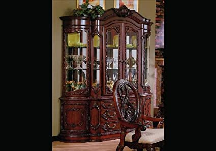 Image Unavailable Not Available For Color Master Dining Room China Cabinet Hutch Buffet Lighted