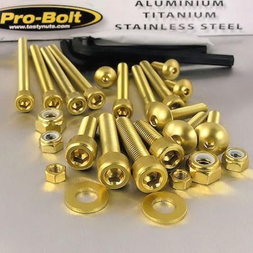 Aluminium Workshop Kit 25 Piece Gold