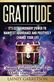 Gratitude: It's Extraordinary Power To Manifest Abundance and Positively Change Your Life: Change Your World In a Few Weeks With Gratitude