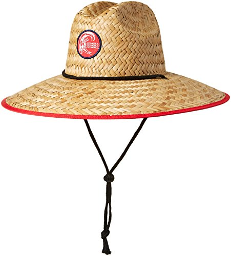 O'Neill Men's Sonoma Prints Straw Hat, Stars/Stripes, ONE