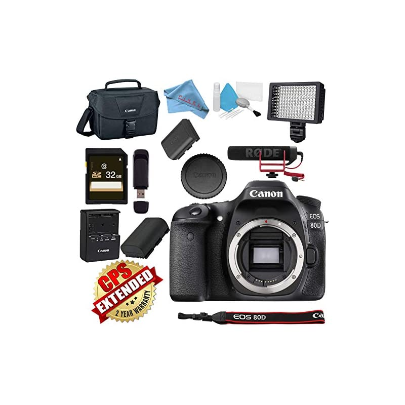 Canon EOS 80D DSLR Camera (Body Only) US
