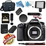 Canon EOS 80D DSLR Camera (Body Only) USA Model with Warranty Video Bundle Review