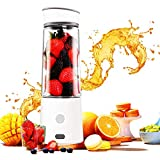 TOPQSC Personal Size Blender, Christmas Gifts, Portable Single...