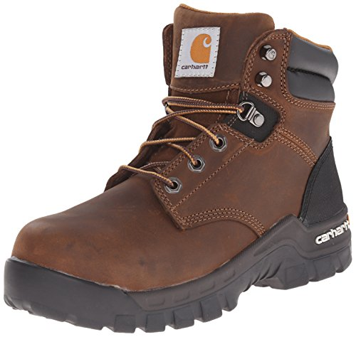 Carhartt Women's Rugged Flex 6 INCH COMP Toe CWF5355-W, Brown 8.5 M US