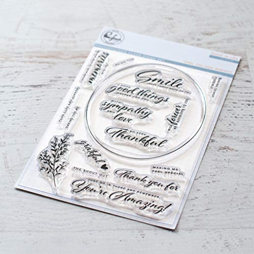 Clear Paper Stamps Studio - Pinkfresh Studio Clear Stamp Set 4