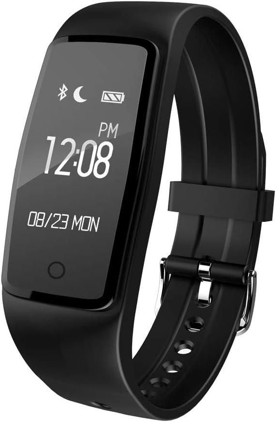 Fitness Tracker, TKSTAR S1 Inteligente Bluetooth Pulsera podómetro ...